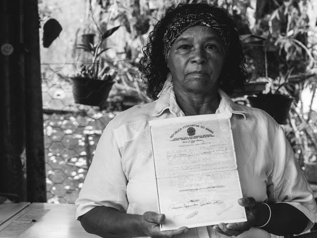 Neta de escravo contra com orgulho a história do patriarca (Foto: Fabio Rodrigues/G1)