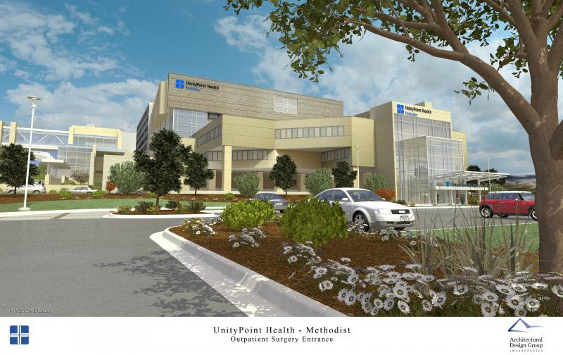 Parking Entrance Improvements Planned For Unitypoint Health