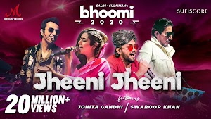 Jheeni Jheeni Lyrics- Jonita Gandhi, Swaroop Khan