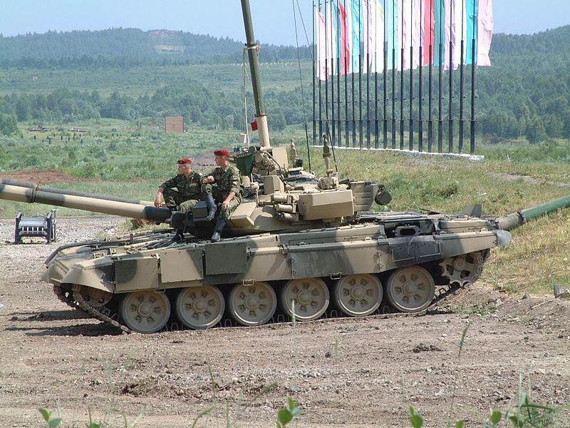 T90, Tank Rusia