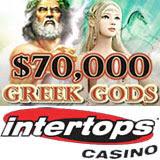 Intertops Casino 70K Greek Gods Casino Bonuses