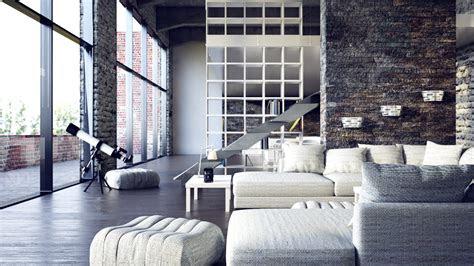beautiful urban lofts visualized