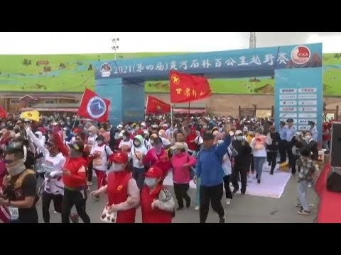 Gansu China: Una lluvia de granizo y un fuerte viento mató 21 personas en maratón