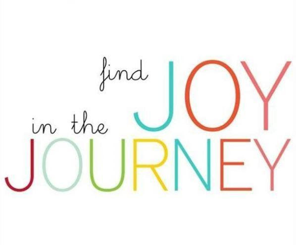 Find Joy In The Journey Picture Quotes