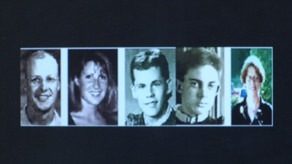 The five people killed in the December 2000 attacks.