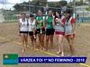 Inscrições para torneio de vôlei de praia masculino e feminino de Jundiaí até quinta