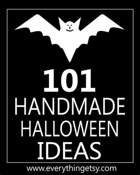 101 Handmade Halloween Crafts