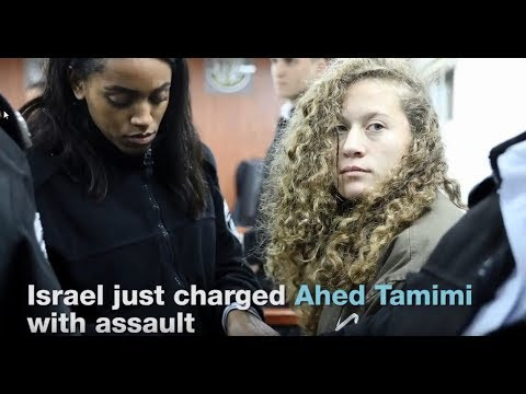 Young girl, Ahed Tamimi, Spends 17th Birthday in Israeli Jail