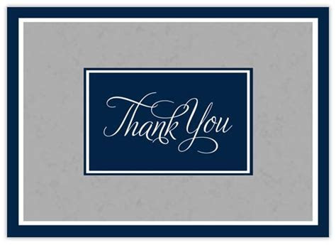 Professional Standard Thanks   Thank You Cards from