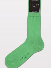 Falke Absinth Green Tiago Fine Cotton Socks