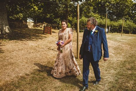 A Traditional Indian Dress For A Country Farm Wedding with