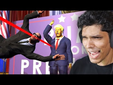SAVE THE PRESIDENT (Very Funny)