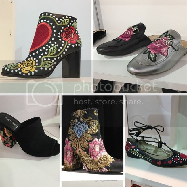embroidered shoe trend forecast 2017