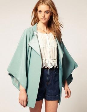 Image 1 ofASOS Kimono Jacket