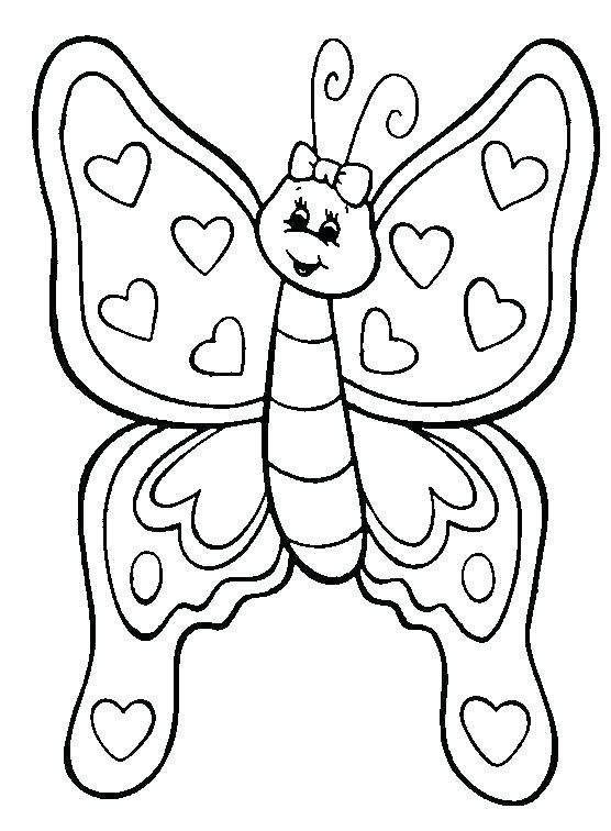 Butterfly Coloring Pages at GetDrawings   Free download