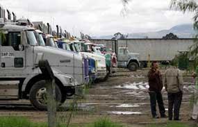 Camioneros colombianos y otros sectores laborales se sumarán al paro del sector agrario convocado para el 19 de agosto
