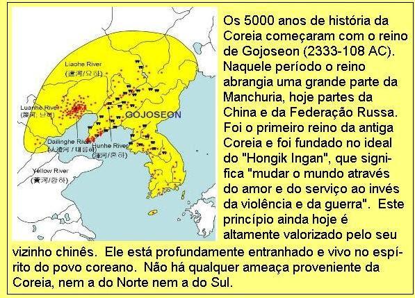 5000 anos de história coreana.