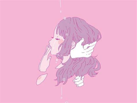 aesthetic anime girl hd wallpaper wallpaper studio