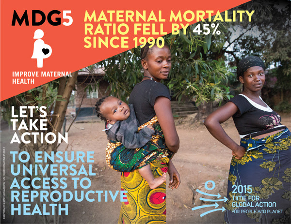 MDG 5 Infographic