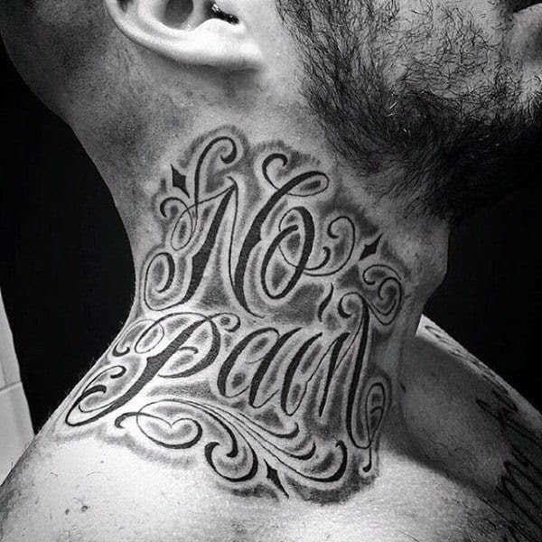 75 Tattoo Lettering Designs For Men Manly Inscribed Ink Ideas
