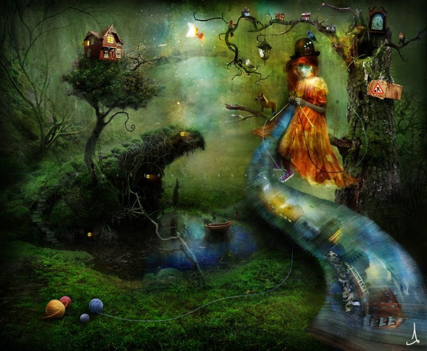 Alexander Jansson illustration fairytale13
