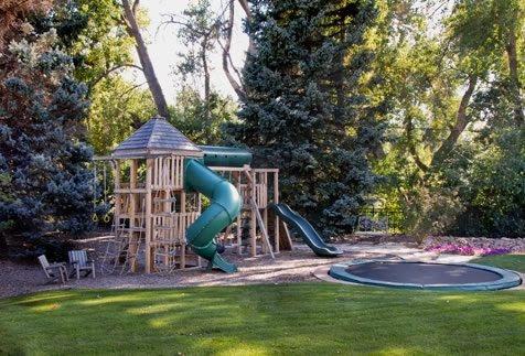 Backyard Play Area Backyard Landscaping Arcadia Design Group Centennial, CO