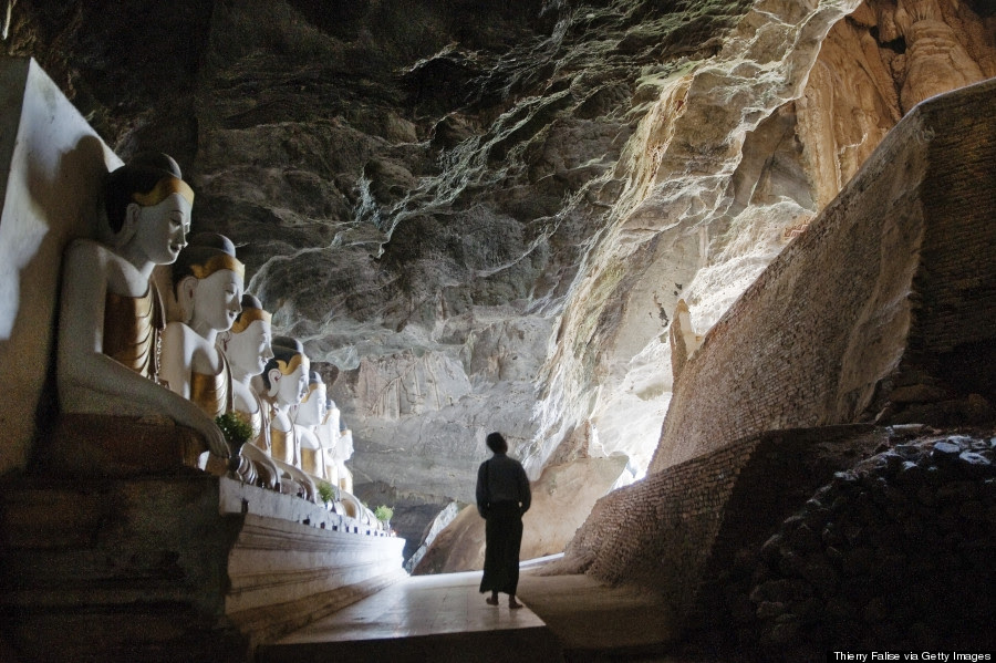 myanmar cave