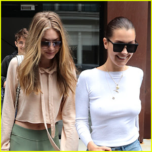 Gigi & Bella Hadid Enjoy a Sisters Outing in NYC!