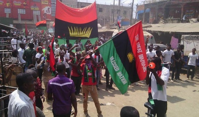 More Headache For Buhari's Government As IPOB, Cameroonian Secessionists Partner On Training, Arms Exchange