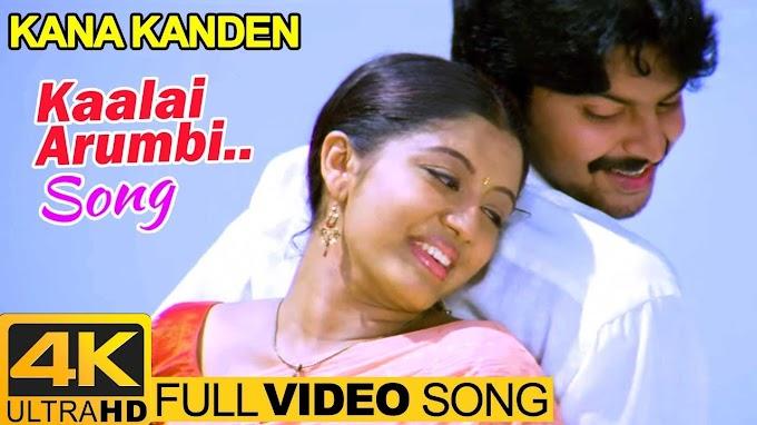 Kana Kanden | Kaalai Arumbi Video Song 4K