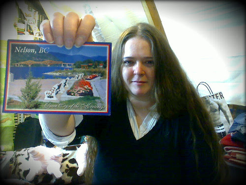 Webcam snap - Thanks, Jen =)