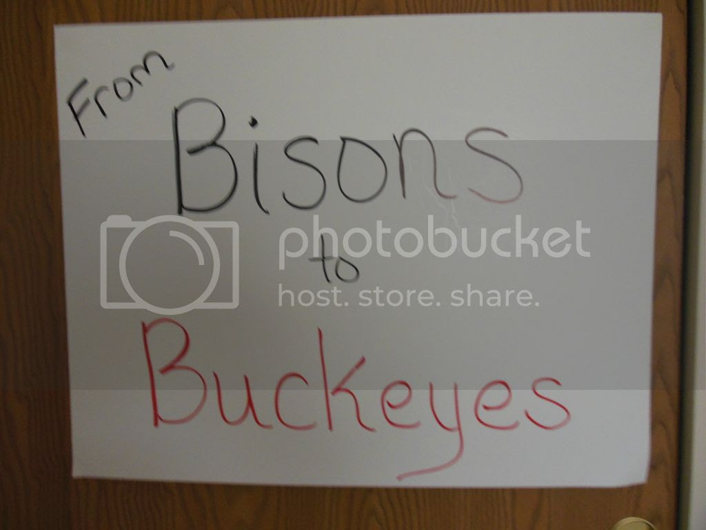 """Bisons to Buckeyes"""