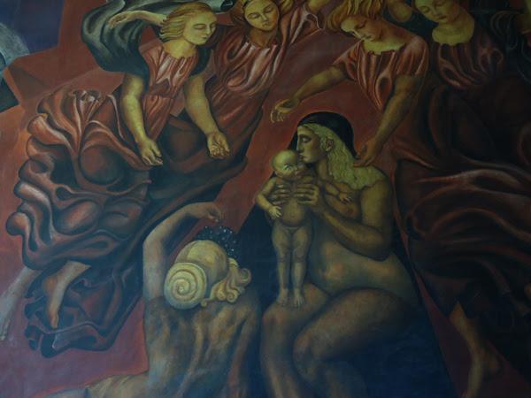 Wikimexico La Maternidad En El Muralismo Mexicano
