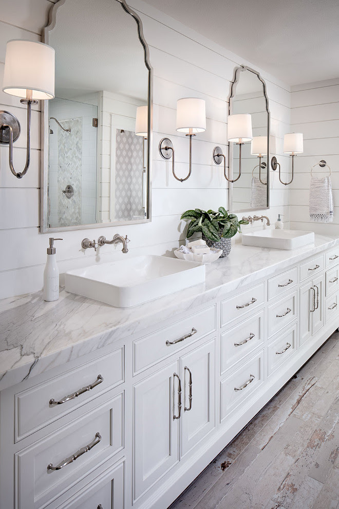 Shiplap In The Bathroom - Decor to Adore