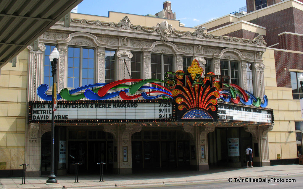 This is one of my favorite marquees in the Twin Cities. The State Theatre opened in 1921 and was one of the more elaborate theatres for it's time.