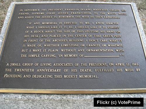 FDR Placque Text_Flickr_Voteprime