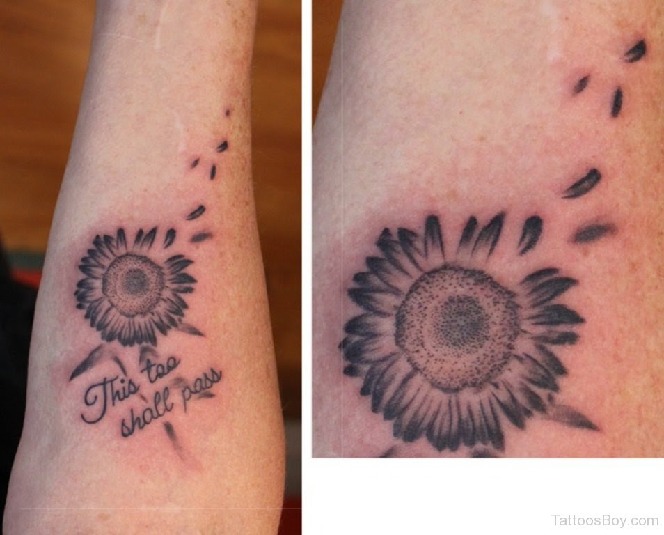 Tiny Sunflower Tattoo Tattoo Designs Tattoo Pictures