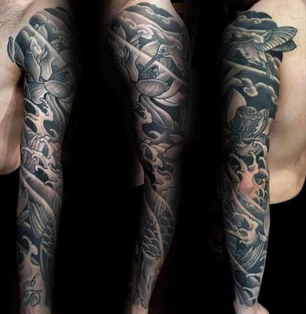 Lotusbloem Tattoo Man Archidev