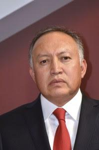 Joaquín Castillo. Nuevo titular de Finanzas. Foto Agencia MVT.