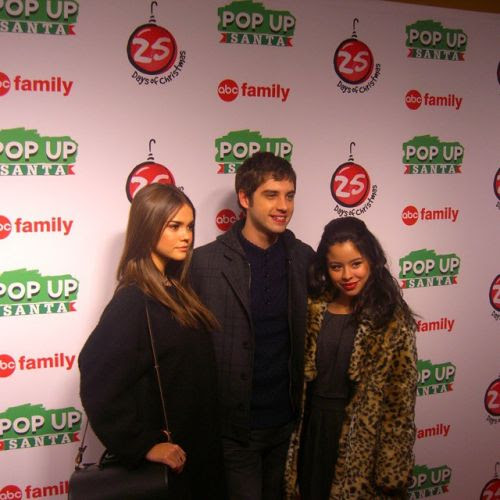 Maia Mitchell, Cierra Ramirez and David Lambert