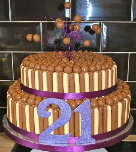 maltesers kitkat cake   Google Search   cake ideas