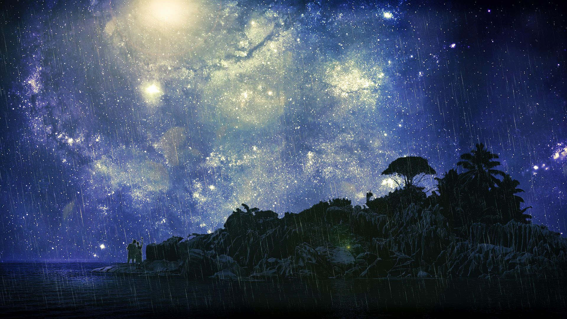 Starry Night Sky Wallpapers 72 Background Pictures