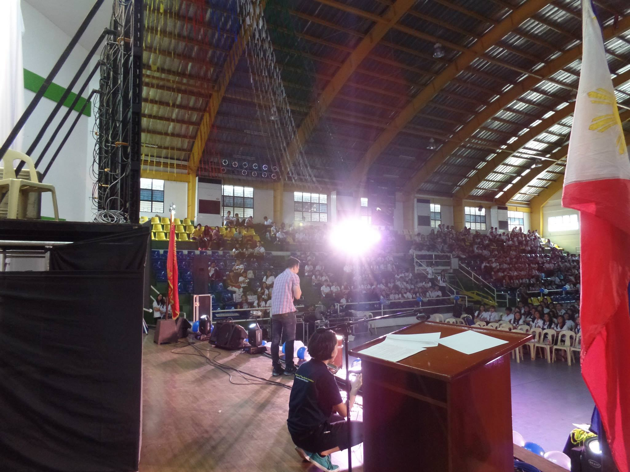 The VoiceMaster Speaking at Chamber of Young Business Leaders in Malolos Bulacan