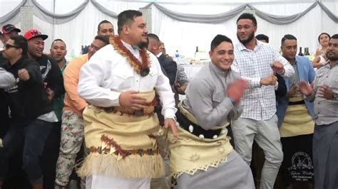 Mate Ma'a Tonga   Groom's Dance   Ova & Ula Wedding