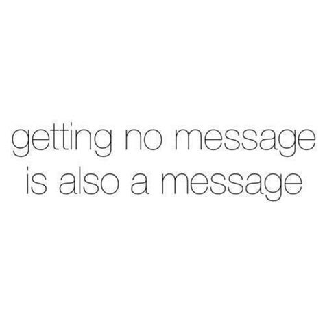 Not Replying To Messages Quotes