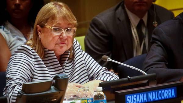 Canciller Susana Malcorra  (AP / Bebeto Matthews).