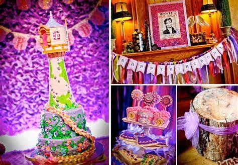Kara's Party Ideas Rapunzel Tangled Princess Girl 3rd