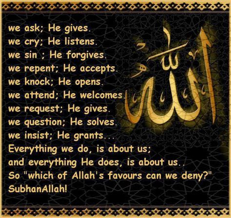 Thanking Allah For The Blessings Quotes