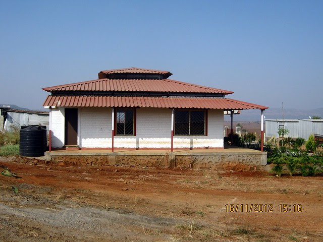 Site Office of Anant Srishti at Kanhe