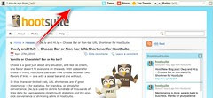 Hootsuite's Ht.ly bar